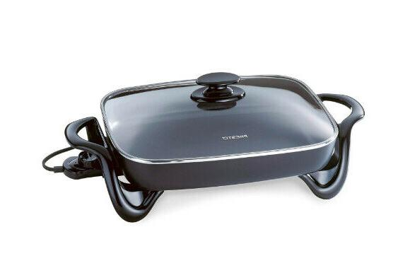 Non Stick Tempered Glass Cooking Buffet