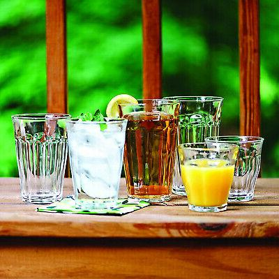 Duralex Clear Glass and Tumbler Cup