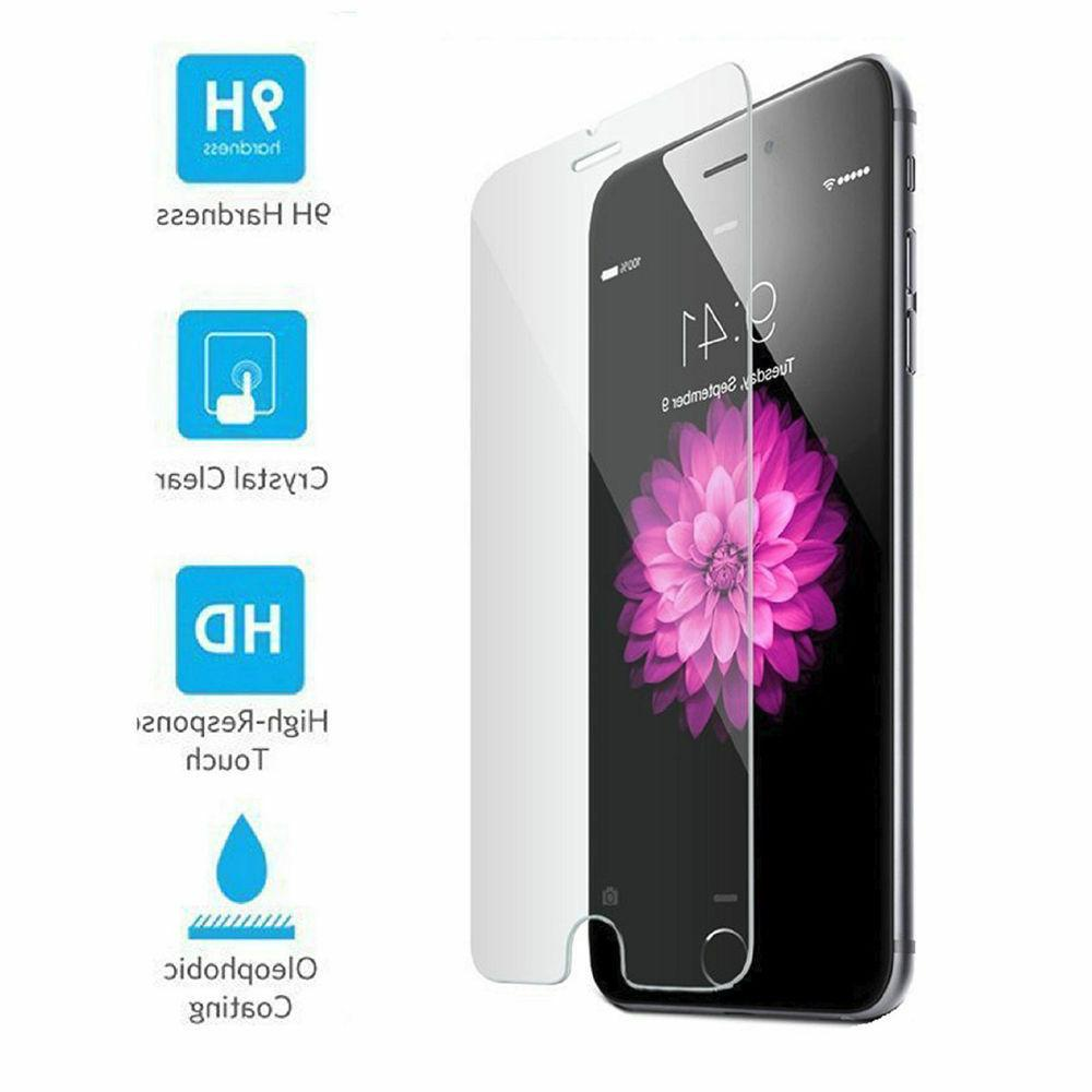 Premium Tempered Glass For iPhone 6 6S 7 8 X