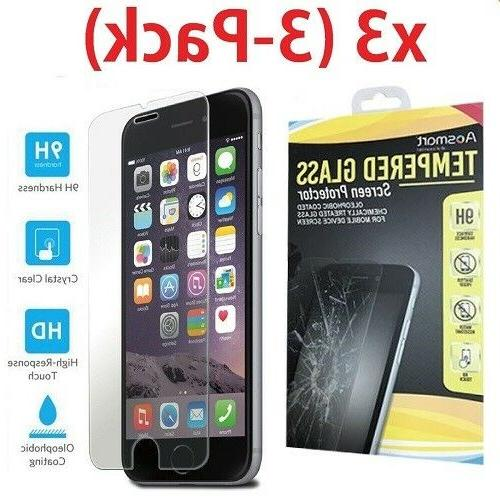 For / Plus Tempered Glass Clear Protector