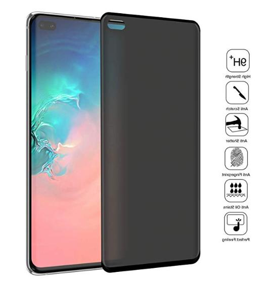 Privacy Screen protector Tempered Glass For Samsung Galaxy S10 / /