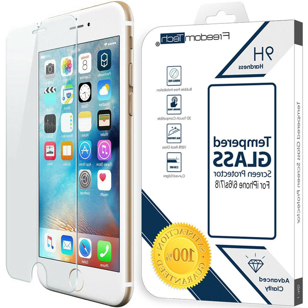 New Premium Tempered Glass Screen Protector Film For iPhone