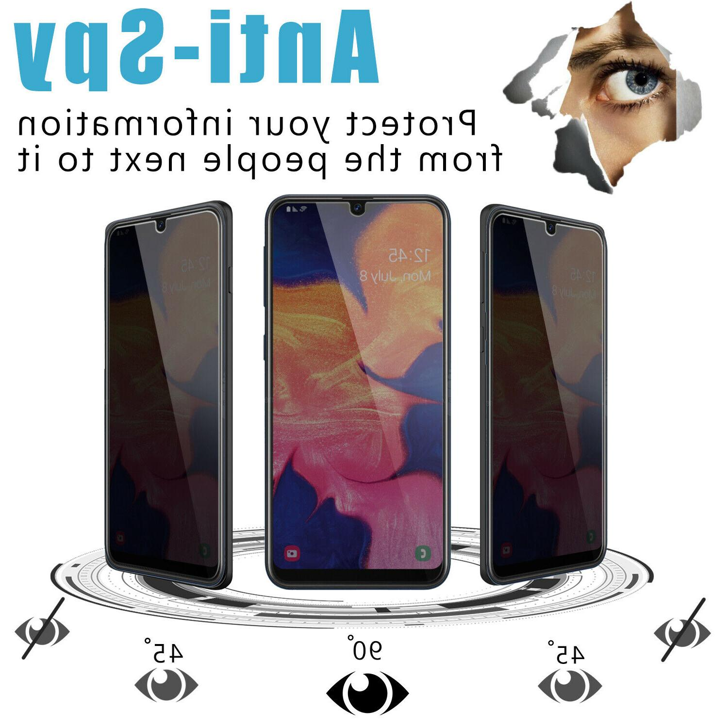 For A10e/A20/A50 Privacy Tempered Screen