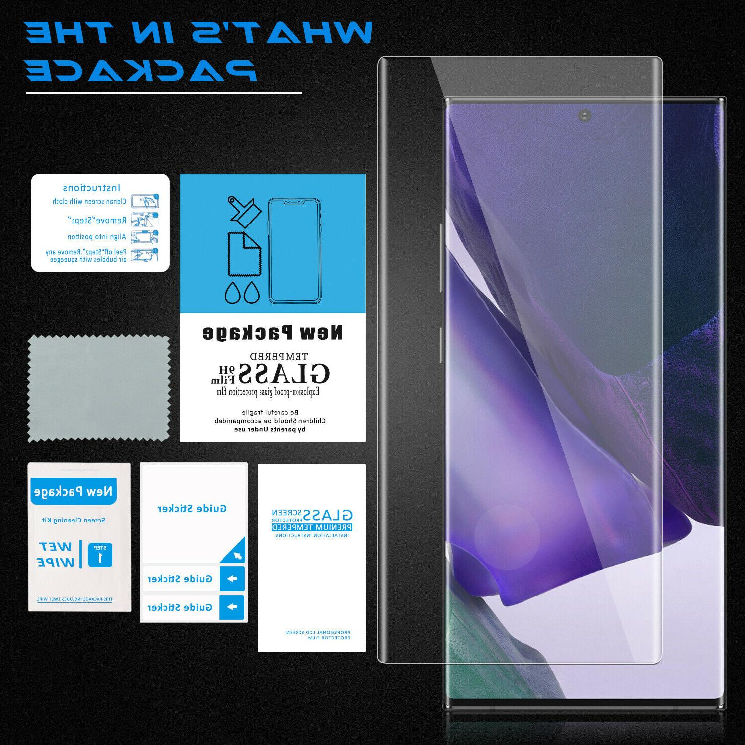 For Samsung 20/20 Tempered Screen Protector