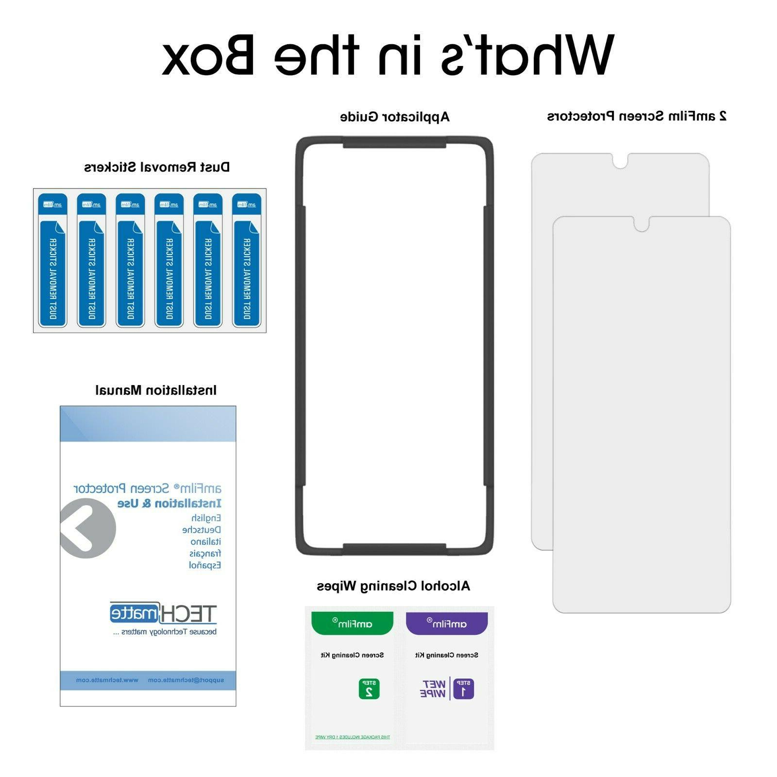 Samsung Note amFilm Full Cover Glass Protector