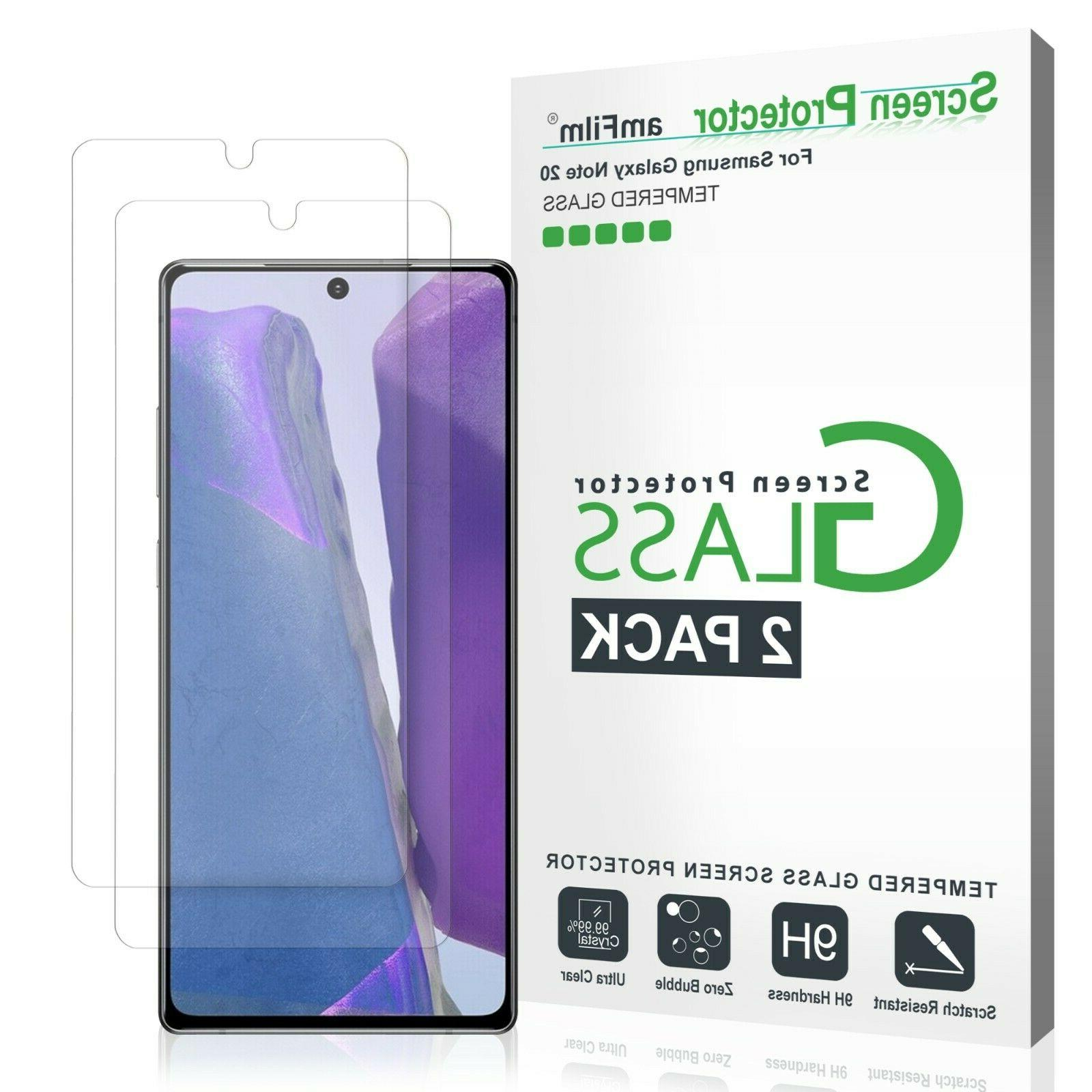 samsung galaxy note 20 full cover tempered