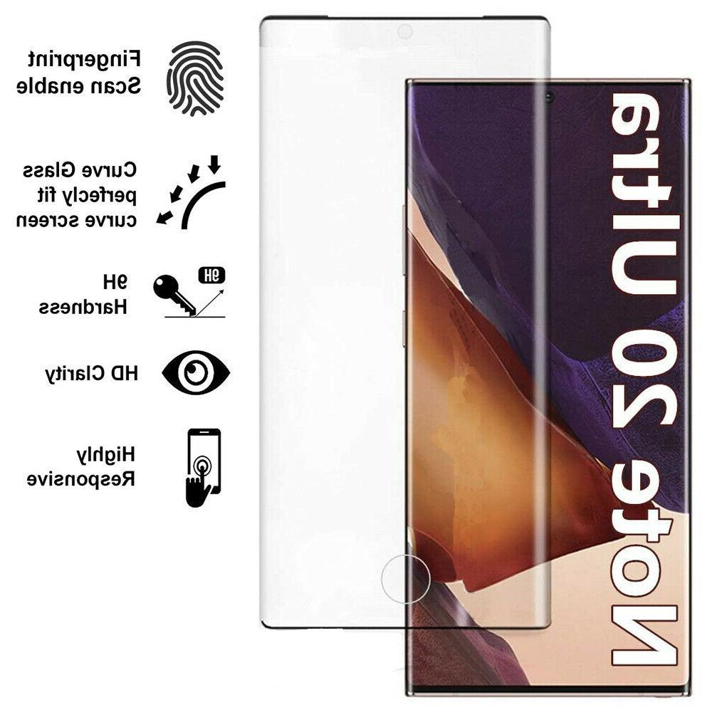 Samsung Note Ultra Tempered Screen Protector Cover