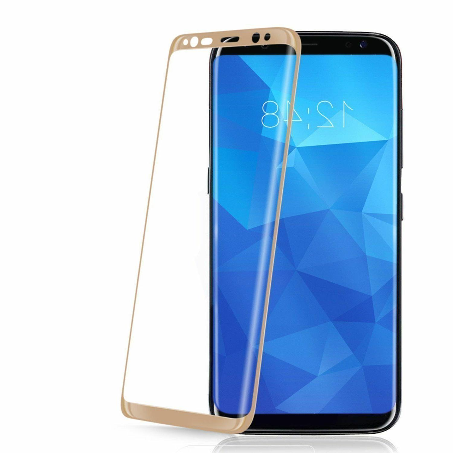 For S10 S8 Plus 8 9 Full Cover Tempered