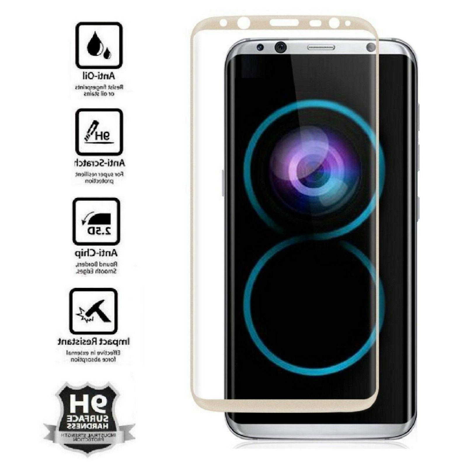 S8 Plus Note 8 9 10 Tempered Glass