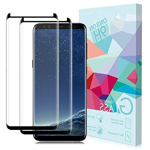 samsung galaxy s8 screen protector 2 pack