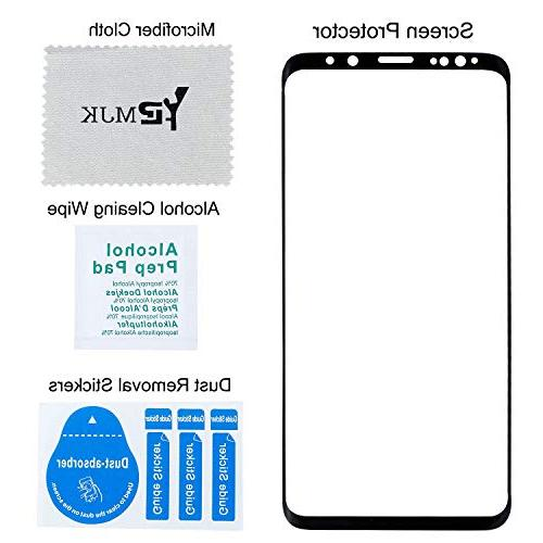 YRMJK Samsung Galaxy S9 Plus Screen Dot Compatible Samsung Plus Protector