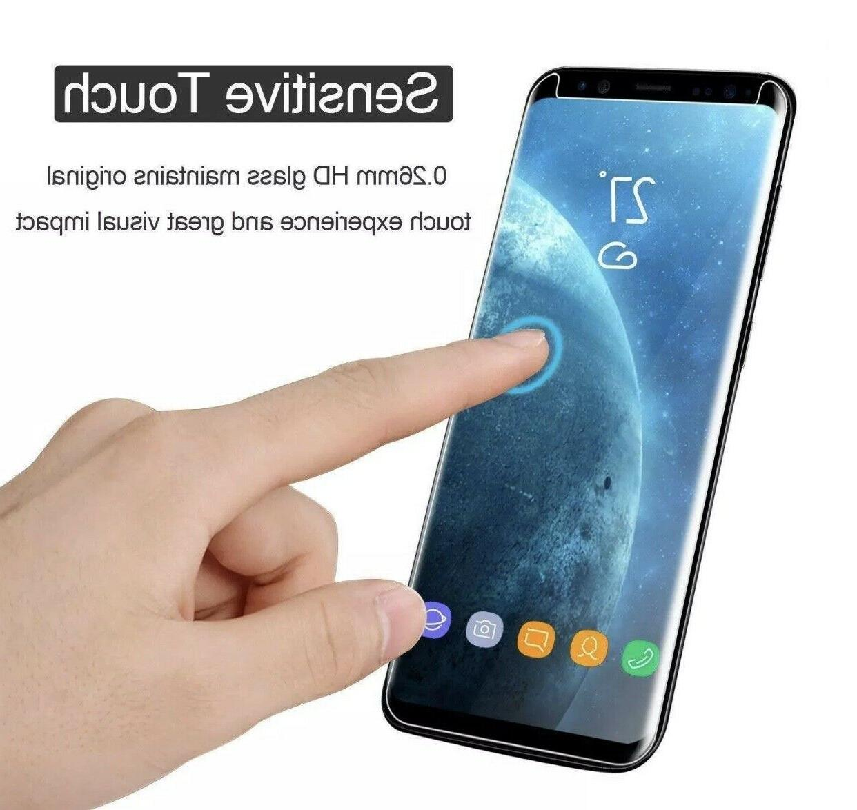 For /Plus / S8 Note 8 9 Protector Tempered Glass