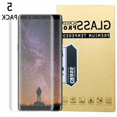 For Samsung S9 S8+ 8 Full Tempered Screen