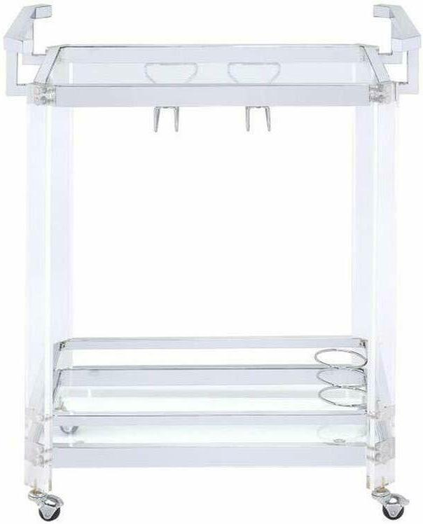 Serving Clear Rack Modern Tier Acrylic