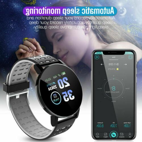 Smart Blood Heart Rate Wristband for Android