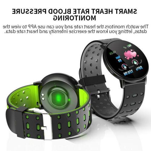 Smart Heart Rate Monitor Wristband iOS