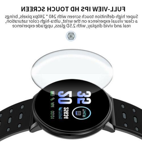 Smart Pressure Heart Monitor Bracelet Wristband