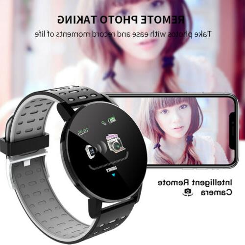 Smart Heart Rate Wristband for