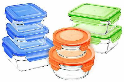 Snaplock Lid Storage Containers assorted lids 14pc