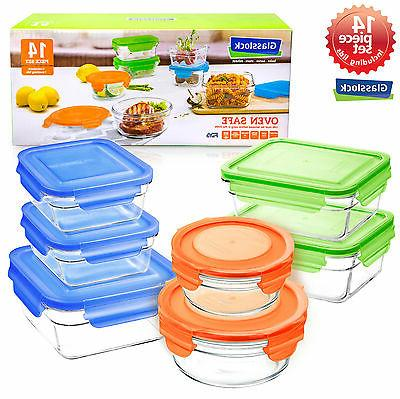 snaplock lid tempered storage containers