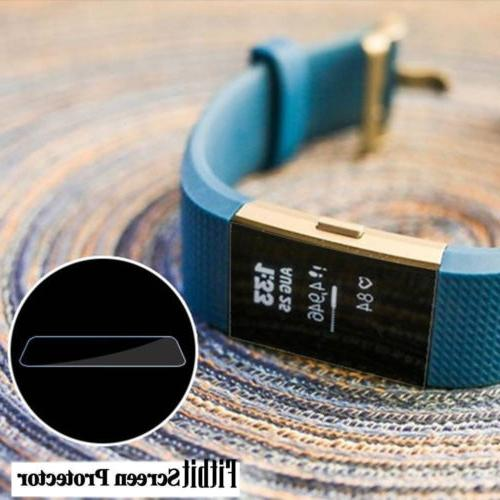 Soft Screen Protector Charger Fitbit 2 Watch