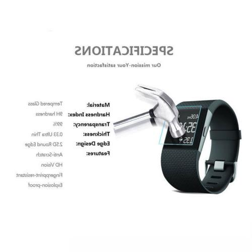 Soft Glass Screen Protector Charger For Fitbit Charge Watch