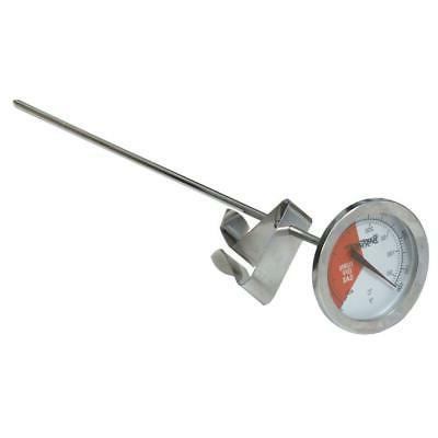 Stainless Steel Thermometer with 12 Stem