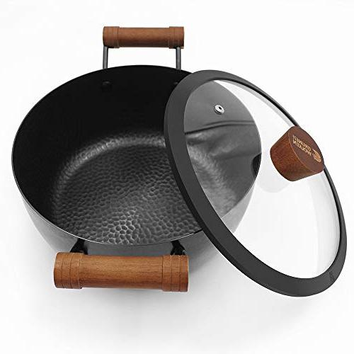 GRUNEN Set, Lid, stockpot Tempered Glass Dishwasher Safe Anti-rust Physical