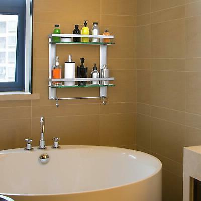 Vdomus Shelf with Towel Bar Mounted...