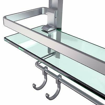 Vdomus Tempered Glass Shelf 2 with Mounted...