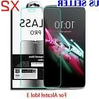 2X Tempered Glass Screen Protector Film For ALCATEL OneTouch