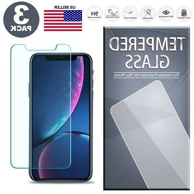 tempered glass screen protector 3 pack