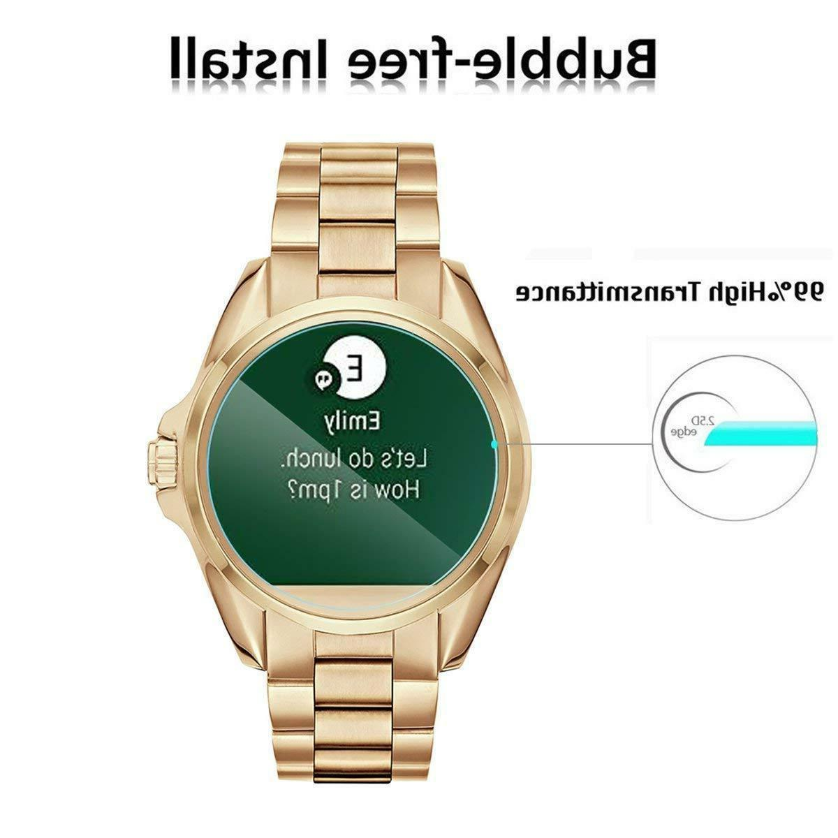 Tempered For Kors Smart Watch 4 PACK