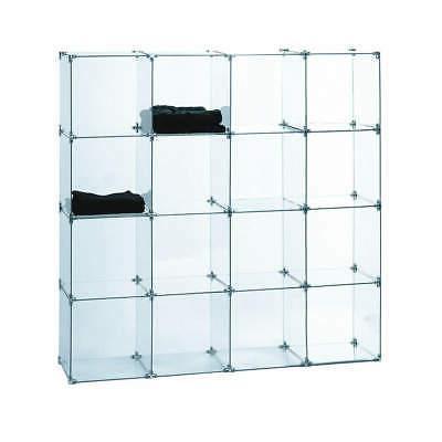 tempered glass shlvs 10 l 10 w