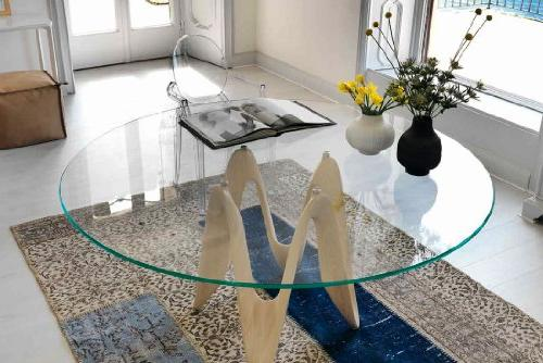 """TroySys Glass Top, 3/8 Thick, 56"""" L"""