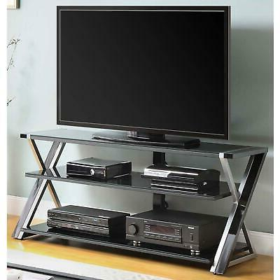 TV Stand Storage For TVs up to 65 Inches With 3 Display Temp