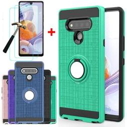 For LG Stylo 6/K51 Phone Case Shockproof Stand Cover /Temper