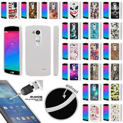 For LG Tribute 2 LS665 Slim Flexible TPU Case Unique Designs