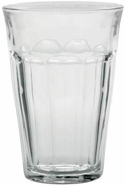 Duralex Made In France Picardie Clear Tumbler, Set of 6, 12.