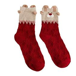 ❤️MChoice❤️Christmas Women Cotton Socks Multi-Color