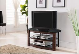 metal tempered glass tv stand