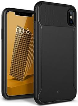 Caseology Nero Slim Series Case Designed for iPhone X with S