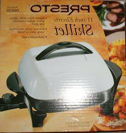 New in Box Presto 06620 11-Inch Electric Skillet*