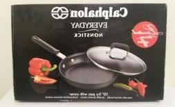 "CALPHALON 'NEW' In Box 10""NonStick FryPan with Tempered Glas"