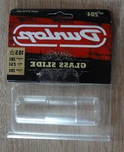 New Jim Dunlop 204 Med Knuckle Tempered Glass Slide! 10.5 Ri