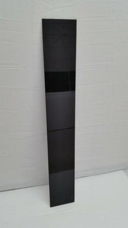 new replacement glass shelf black tempered glass