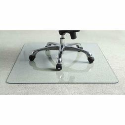 NEW Lorell Tempered Glass Chair Mat