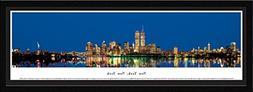 Blakeway Worldwide Panoramas New York-Twin Towers at Twiligh