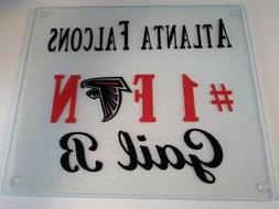 Personalized Tempered Glass Cutting Board . Birthday or Just