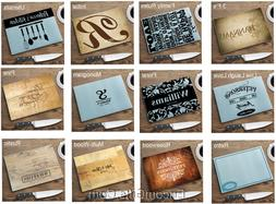 Personalized Tempered Glass Kitchen Cutting Boards w/ Graphi